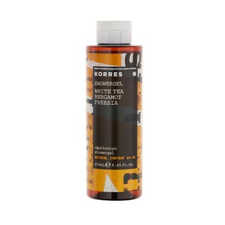 KORRES - FRAGNANCE Fragnanced Shower gels, 250mL - WHITE TEA-BERGAMOT