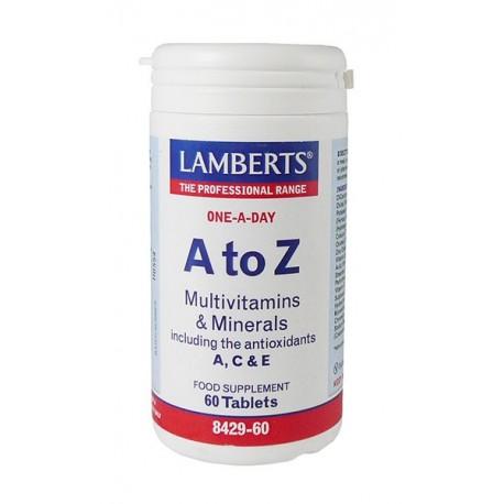Lamberts - A-Z Multi Vitamins, 30 / 60 Tabs - 60 TABLETS