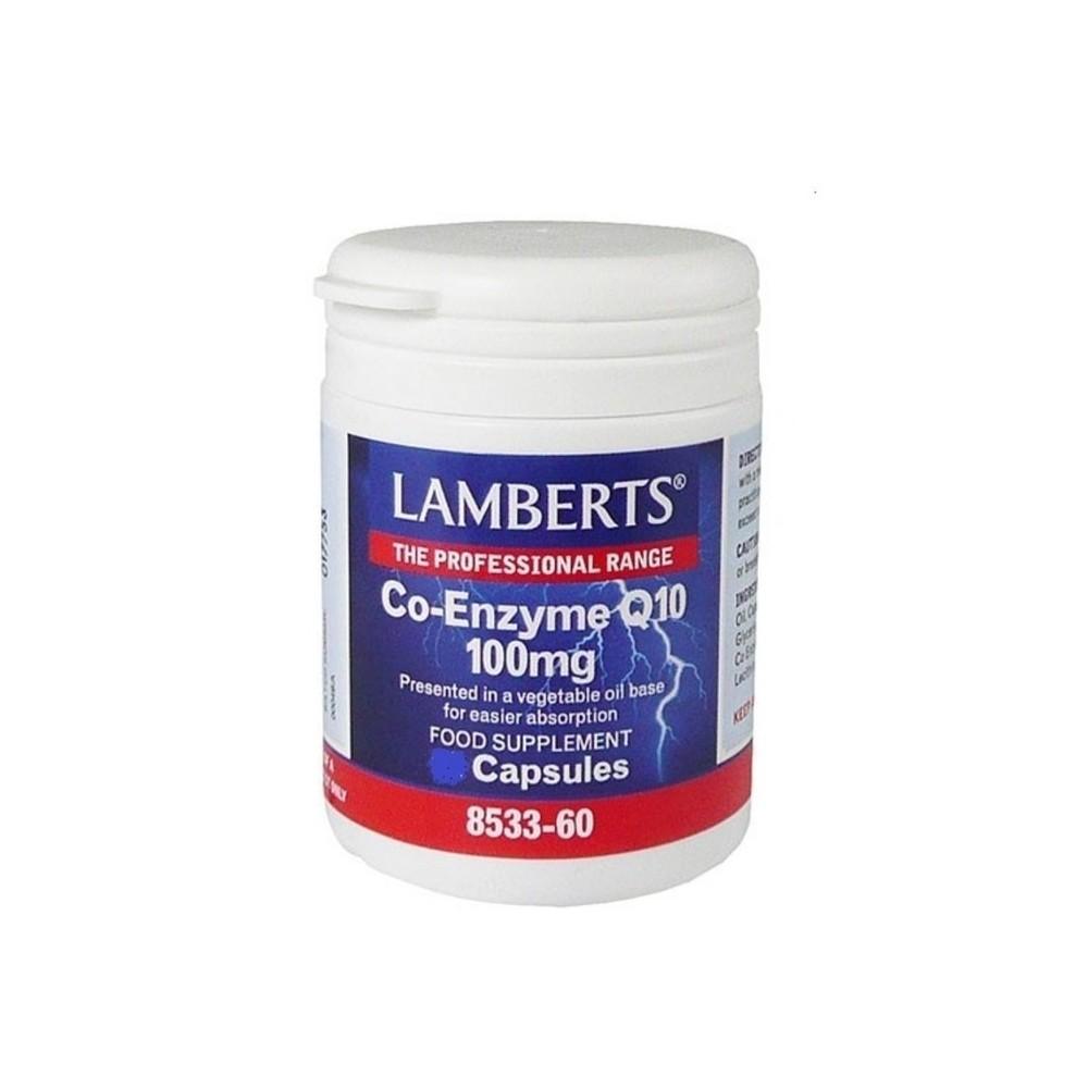 Lamberts - CO-ENZYME Q10 30MG / 100MG, 30CAPS - 100 MG