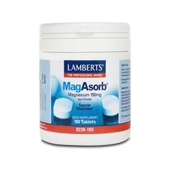 Lamberts - Mag Asorb, 60 / 180 Tabs - 180 TABLETS
