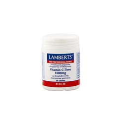 Lamberts Vitamin C Time Release 1000mg 30tabs