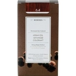 KORRES - Argan Oil Advanced Colorant Μόνιμη Βαφή Μαλλιών με τεχνολογία Pigment-Lock που κλειδώνει το χρώμα 50ml - 6.4 ΞΑΝΘΟ ΣΚΟΥ