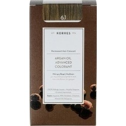 Korres Argan Oil Advanced Colorant 6.1 Ξανθό Σκούρο Σαντρέ