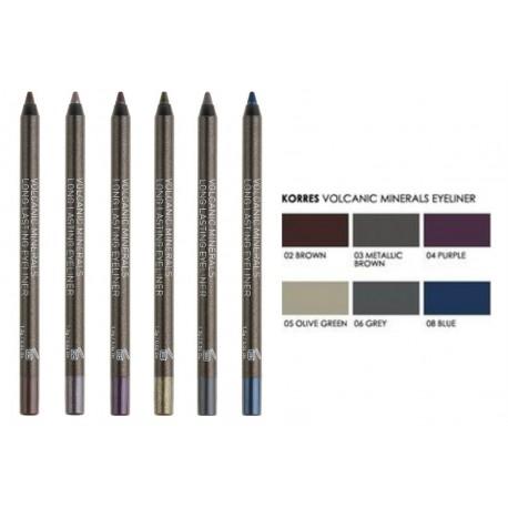 KORRES - EYES VOLCANIC MINERALS Long Lasting Eyeliner, 1,20mL - 03 METALLIC BROWN