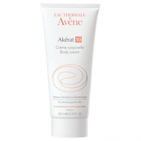 AVENE - AKERAT 10, Psoriasis-Prone Skin Akérat Body Care Cream, 200ml