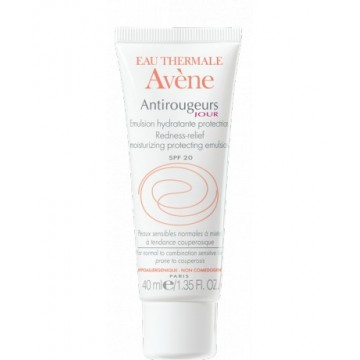 AVENE - ANTIROUGEUS Rosacea-Prone Skin Antirougeurs Jour Redness-Relief Moisturizing Protecting Cream, 40ml