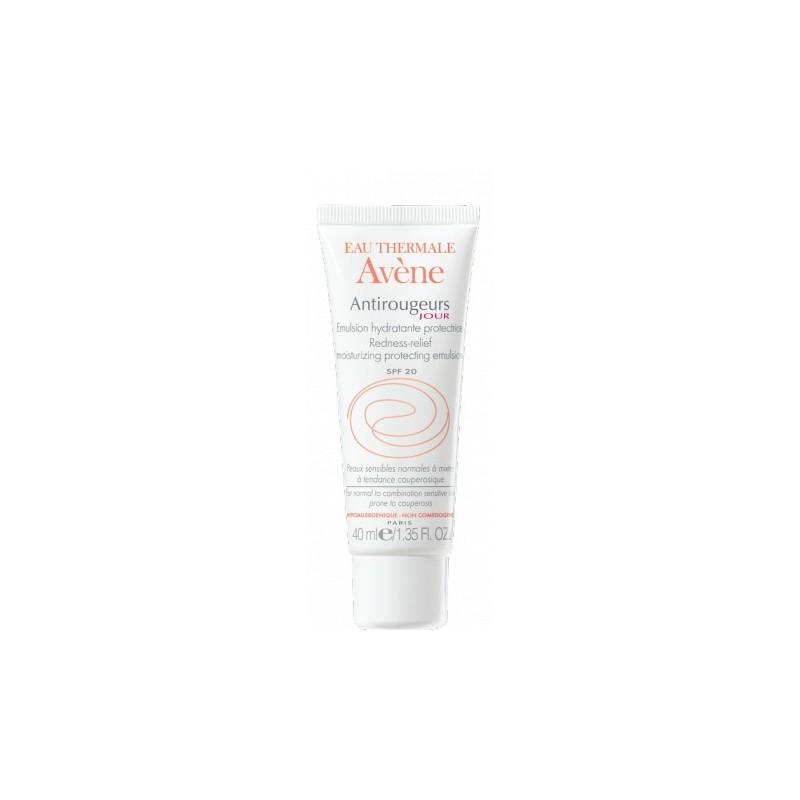 AVENE - ANTIROUGEUS Rosacea-Prone Skin Antirougeurs Jour Redness-Relief Moisturizing Protecting Cream, 40ml