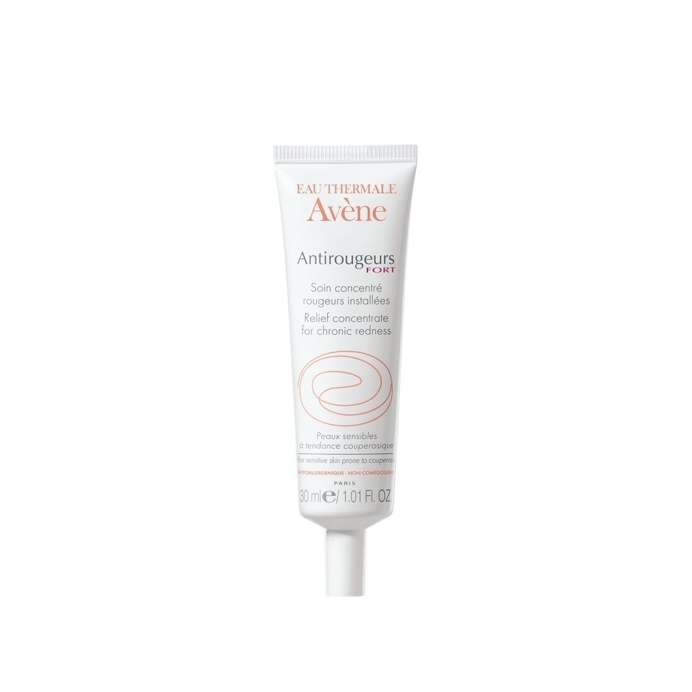 AVENE - ANTIROUGEUS Rosacea-Prone Skin Antirougeurs Relief Fort Concentrate for Chronic Redness, 30ml