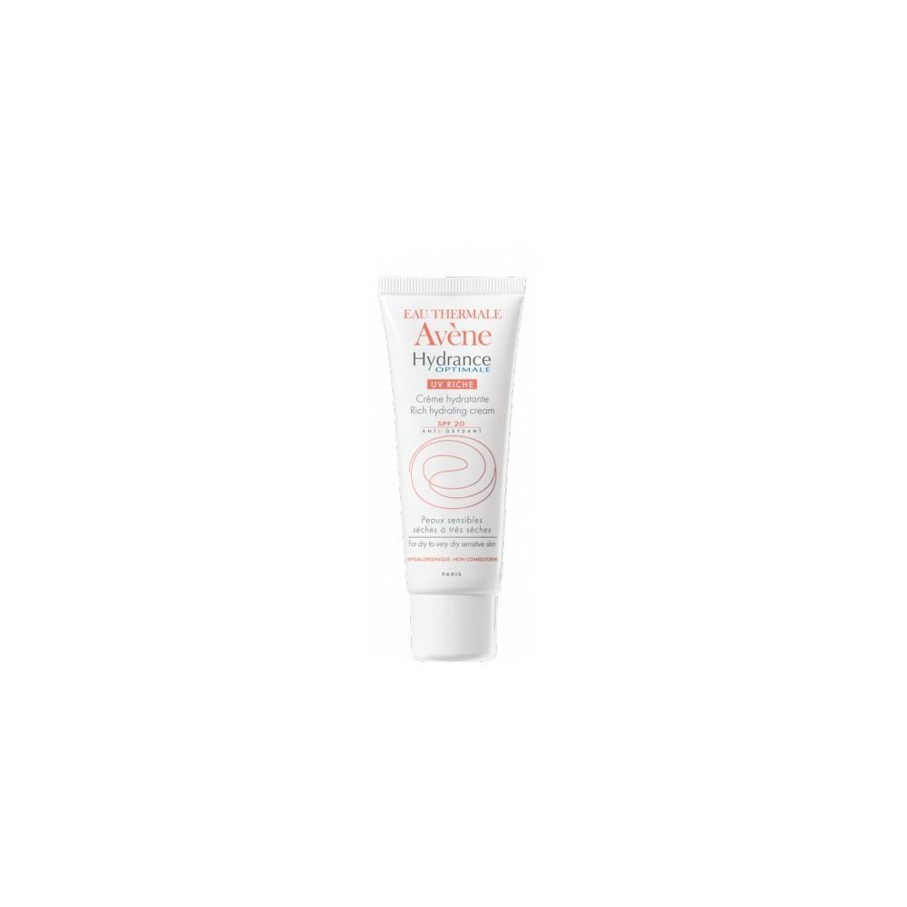 AVENE - Hydrance Optimale UV Riche SPF20, 40 ml