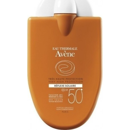 AVENE REFLEXE SOLAIRE FACE FOR SENSITIVE SKIN, SPF50+, 30ml