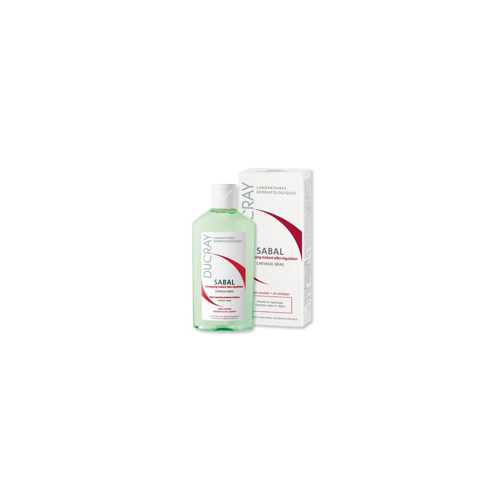 DUCRAY Sabal Sebum-regulating Treatment Shampoo 200ml