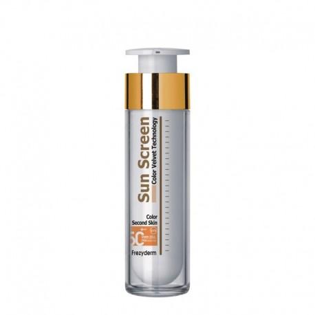 FREZYDERM SunScreen Velvet Color Face SPF 50+, 50ml