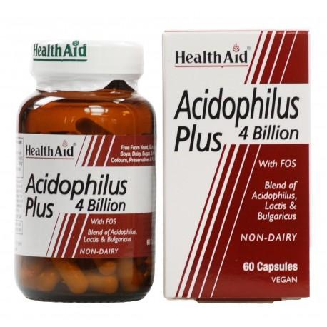 HEALTH AID - Acidophilus Plus, 60Caps