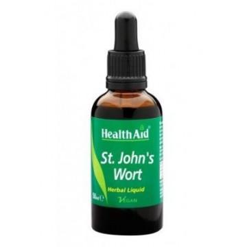 HEALTH AID - St. John's Wort Herbal Liquid, Υπερικίνη - Φυτικό ήπιο αντικαταθλιπτικό, 50ml