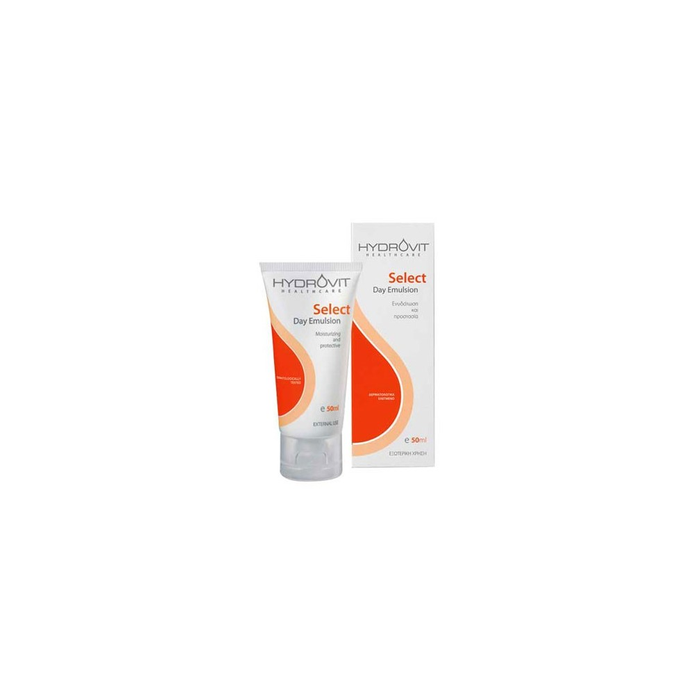 HYDROVIT Select Day Emulsion Κρέμα προσώπου με ενυδατικές και αντιοξειδωτικές ιδιότητες, 50ml
