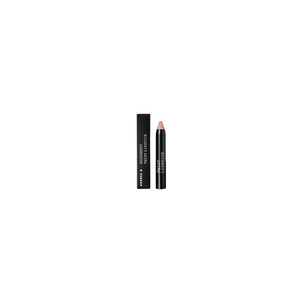 KORRES - LIPS RASPBERRY TWIST LIPSTICK - DELIGHT