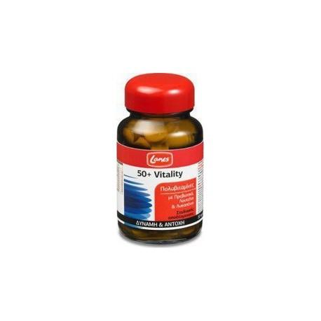 LANES - Πολυβιταμίνες 50+ Vitality 30 tabs
