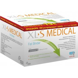 OMEGA PHARMA - XL-S MEDICAL Fat Binder Αγωγή 1 μήνα, 180caps