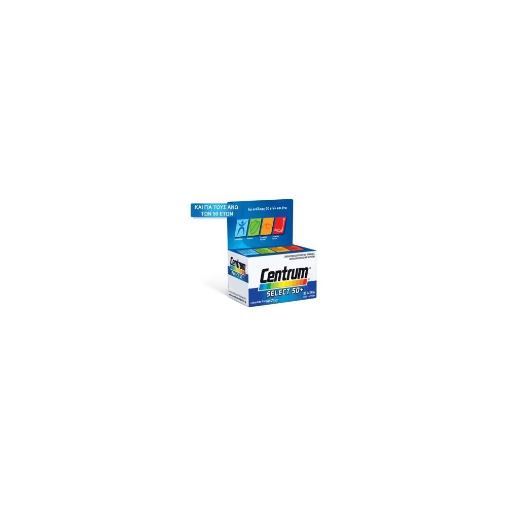 PFIZER - Centrum Select 50+, 30 Tablets