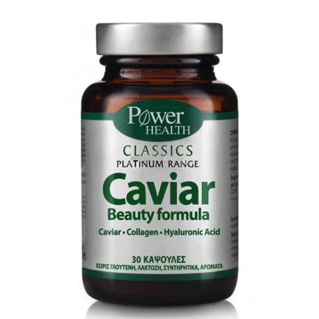 POWER HEALTH - Classics Platinum Range, Caviar Beauty Formula - 30caps