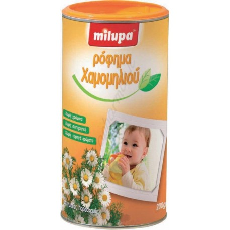 """MILUPA - HERBAL DRINK CHAMOMILE """"New Synthesis"""" 200gr"""