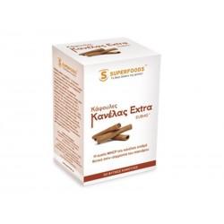 SUPERFOODS - Capsules Cinnamon Extra -  Κάψουλες Κανέλας Extra EUBIAS™