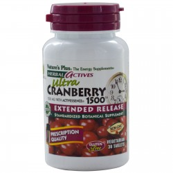 Nature's Plus Ultra Cranberry 1500 Extended Release 30 tabs
