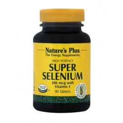 Nature's Plus Super Selenium 200 mcg 90 tabs