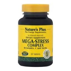 Nature's Plus Mega-Stress Complex 30 tabs