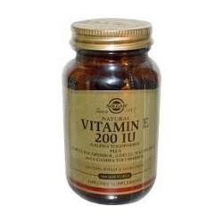 Solgar Vitamin E 200IU 50 μαλακές κάψουλες