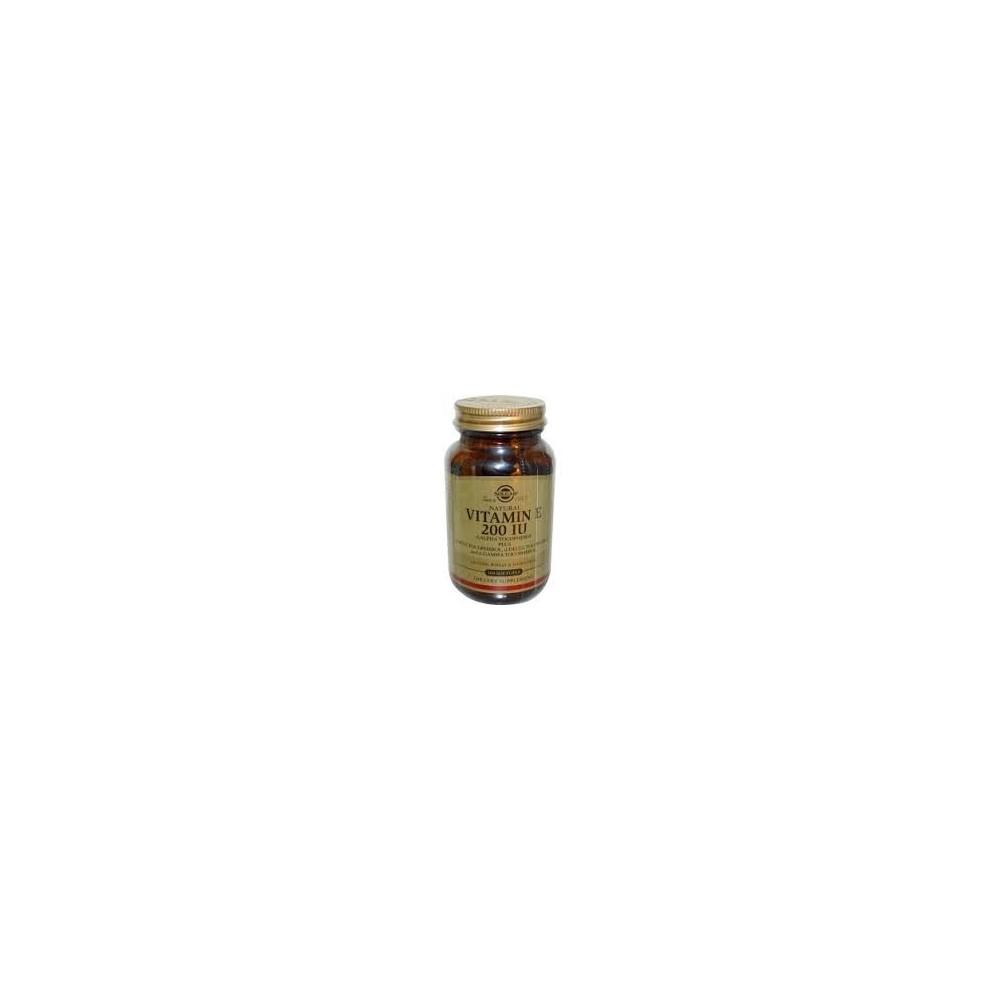 Solgar Vitamin E Natural 200 IU 50 softgels