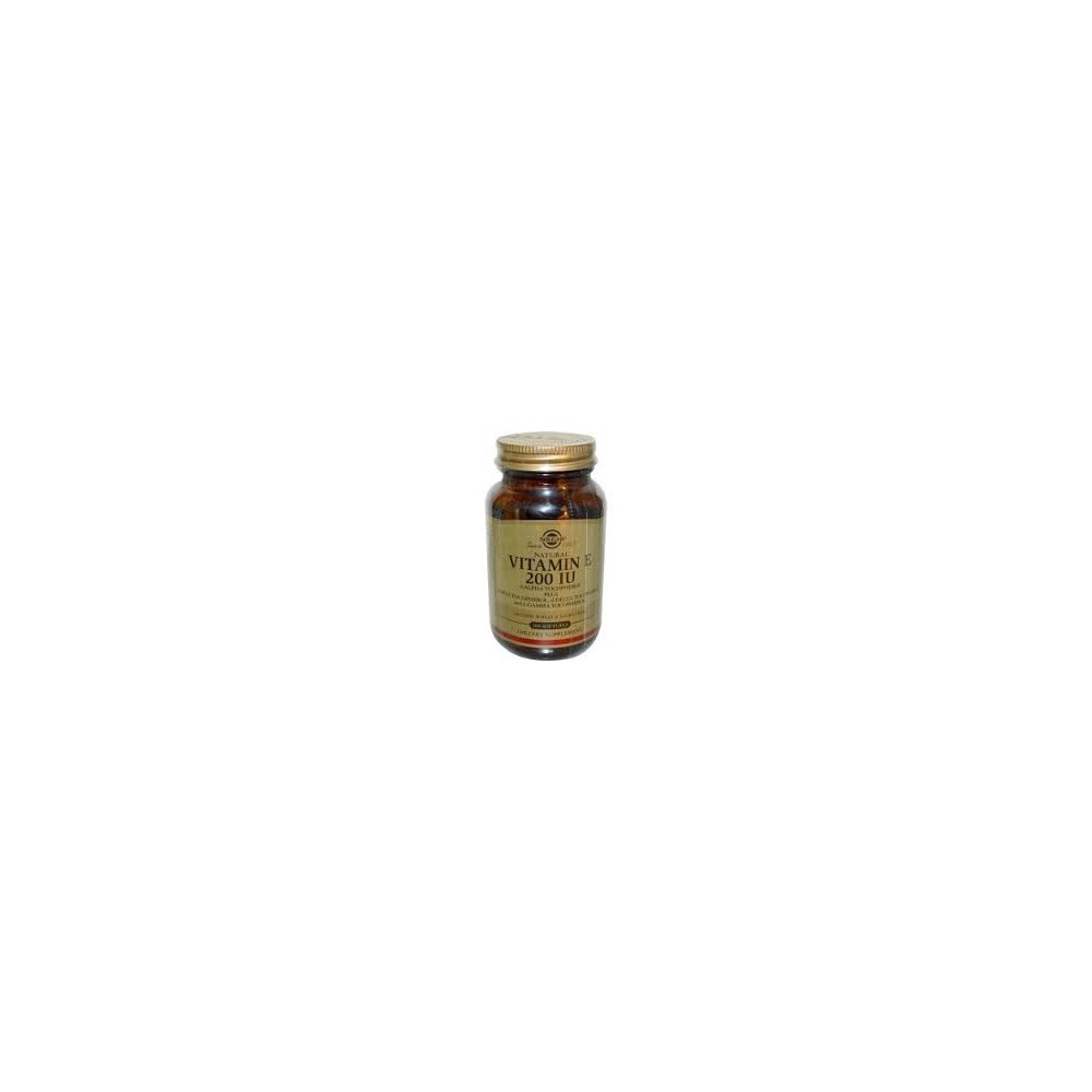 Solgar Vitamin E Natural 200 IU 250 softgels