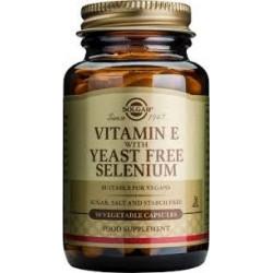 Solgar Vitamin E with yeast free Selenium 100 veg.caps
