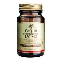 Solgar Vegetarian CoQ-10 120mg 30 φυτικές κάψουλες