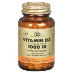 Solgar Vitamin D3 1000iu 90tabs