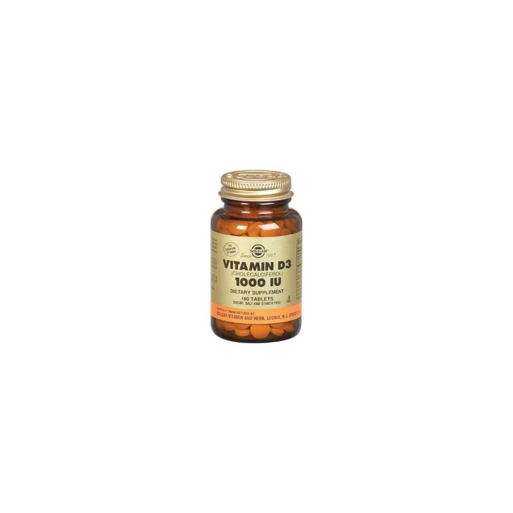 Solgar Vitamin D3 1000 IU 90 tabs