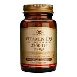 Solgar Vitamin D3 2200 IU 50 veg.caps