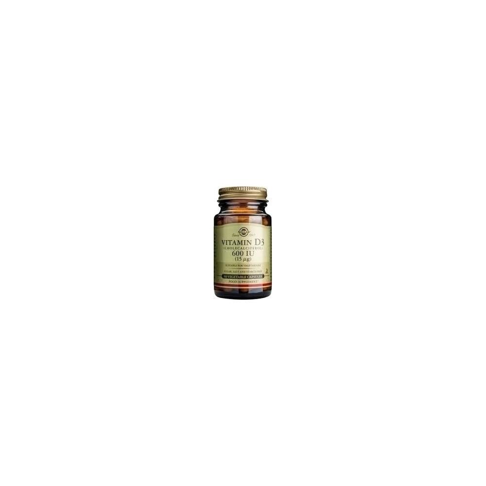 Solgar Vitamin D3 600 IU 60 veg.caps