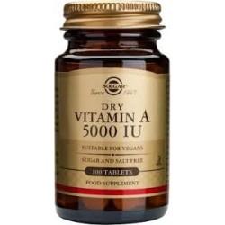 Solgar Vitamin A 5000 IU 100tabs