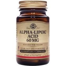 Solgar Alfa Lipoic Acid 60 mg 30veg.caps