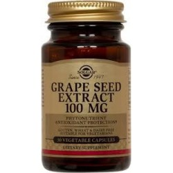 Solgar Grape Seed Extract 100mg 30 veg.caps