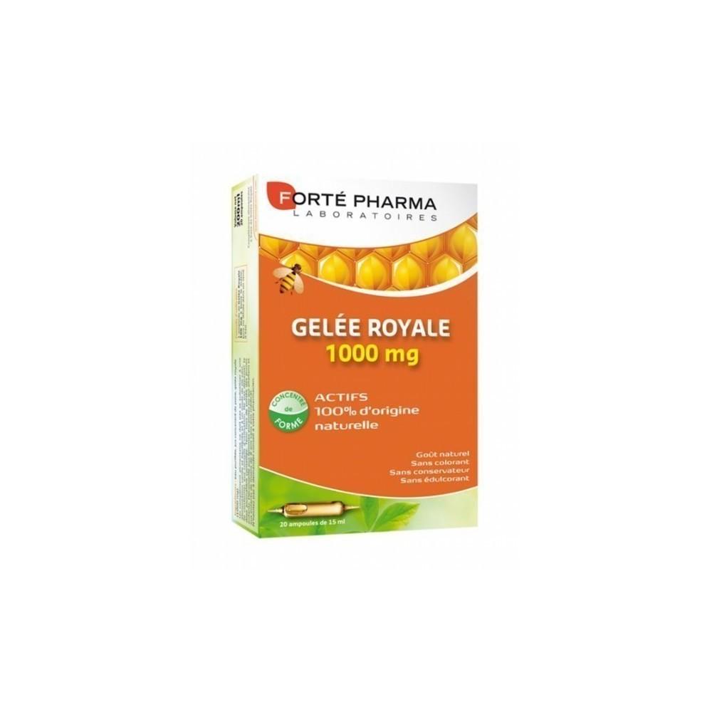 Forte Pharma Gelée Royale 1000 mg 10 ml x 20 amp