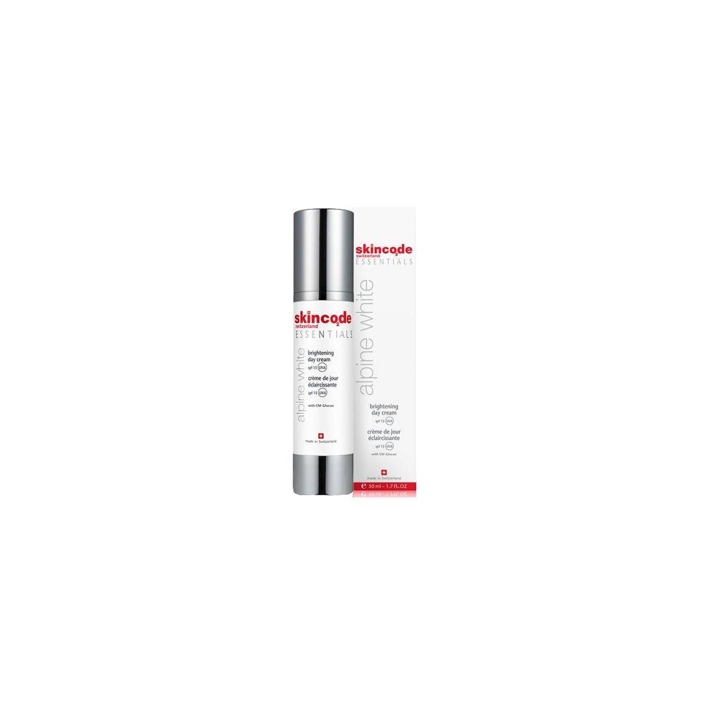 Skincode – Alpine White brightning day cream spf 15 – 50ml