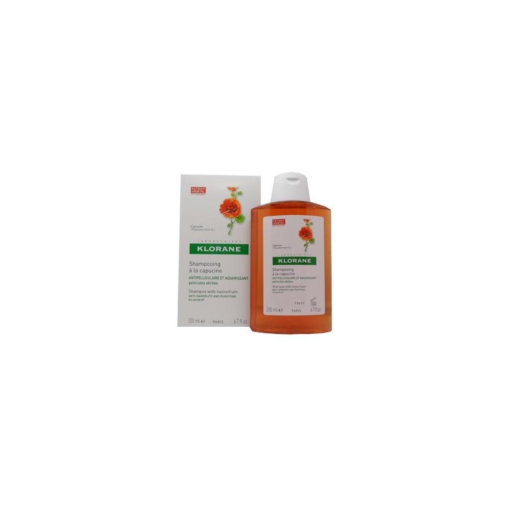 Klorane Shampoo Capucine Σαμπουαν με Καπουτσίνο Κατά Της Πιτυρίδας 200ml