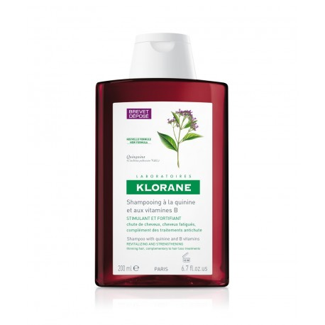Klorane Klorane Shampoo Quinine Δυναμωτικό σαμπουάν με κινίνη 200ml
