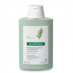 Klorane Shampoo Myrte Σαμπουάν Με Εκχύλισμα Μυρτιάς για Μαλλιά με Λιπαρή Πιτυρίδα 200ml