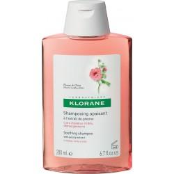 Klorane Pivoine Shampoo Καταπραυντικό Σαμπουάν με Παιώνια για Ευαίσθητα Μαλλιά 200ml