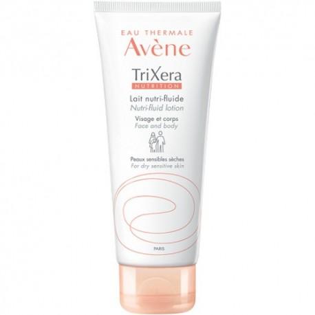 Avene Trixera Nutrition Lait Nutri-Fluid Lotion Dry Sensitive Skin 200ml