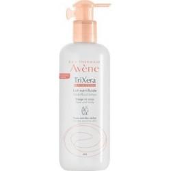 Avene Trixera Nutrition Lait Nutri-Fluid Lotion Ενυδατική Λοσιόν Πρόσωπο & Σώμα Ξηρό & Ευαίσθητο Δέρμα 400ml