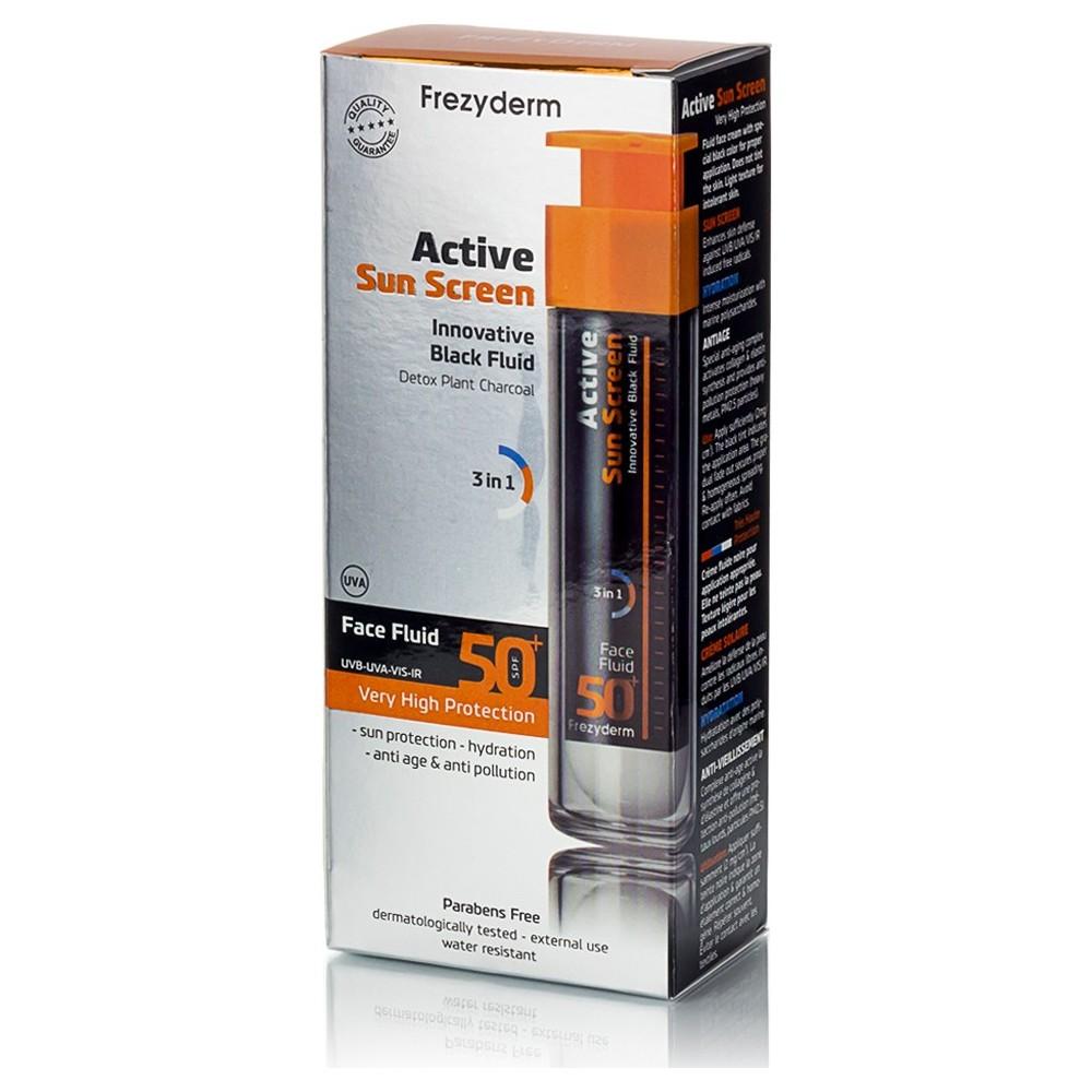 Frezyderm Active Sun Screen Face Fluid SPF50 50ml